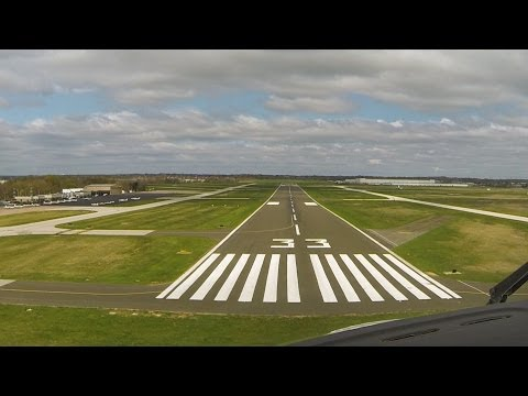 Inflight Video - King Air 300 Landing Northeast Philly Airport (KPNE) on April 23, 2014