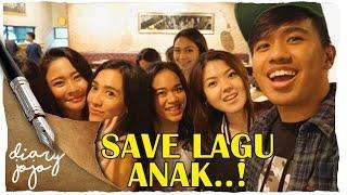 #DiaryJojo - RECORDING DAY #SaveLaguAnak