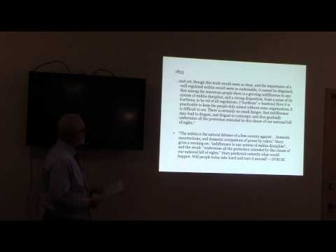 Restoring the Necessary Enforcement of Our Constitution and Bill of Rights Part 3
