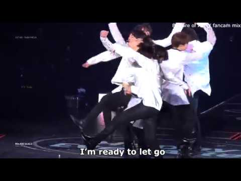 BTS 방탄소년단 LET GO [FANCAM MIX] [ENG SUB]