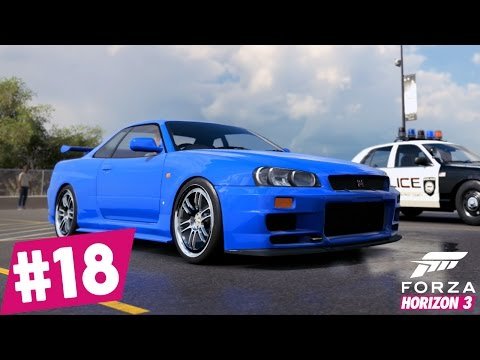 Forza Horizon3 - Skyline Paul Walker