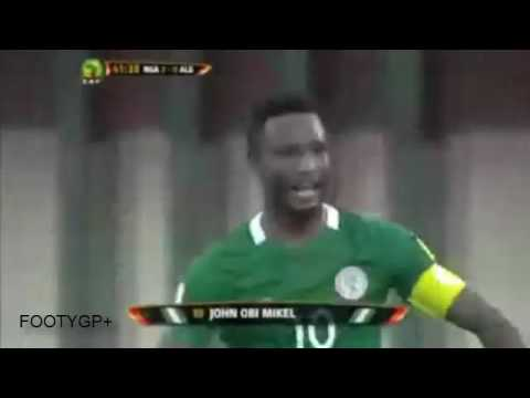 John Obi Mikel Bizarre goal vs Algeria clear onside but failed defense