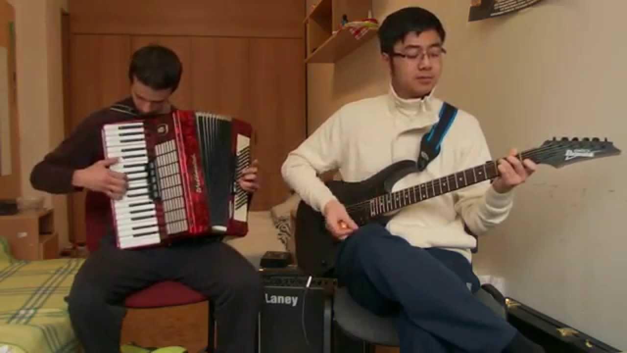 how to play danza kuduro on accordion