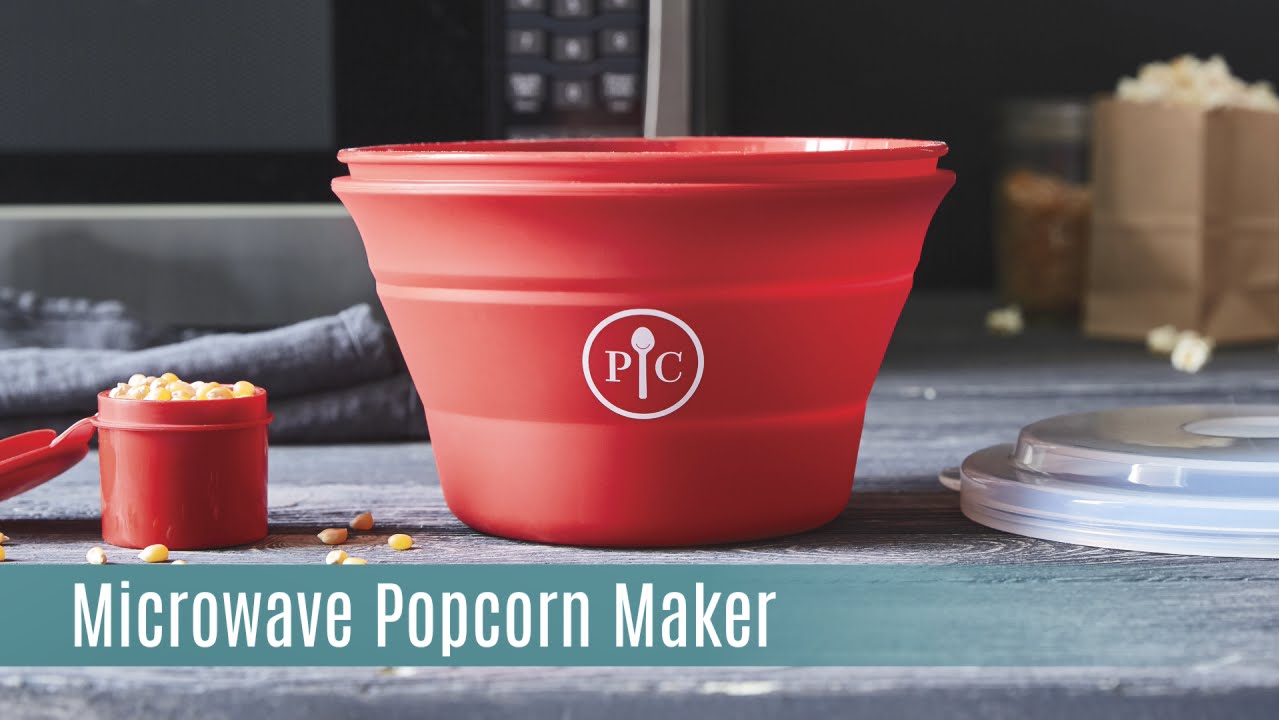 the microwave popcorn maker pampered chef