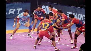 Pro Kabaddi 2018 Highlights | UP Yoddha vs Bengal Warriors  | Hindi