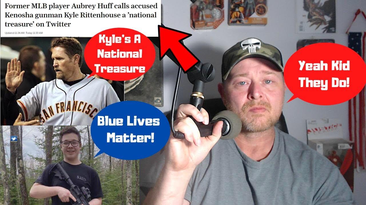 Former Mlb Giants Player Aubrey Huff Praises Kyle Rittenhouse As National Treasure Youtube