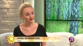 Musikgäst - Anna Bergendahl - Nyhetsmorgon (TV4)