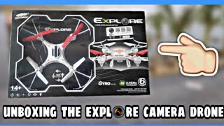 First time unboxing the (explore s48 camera drone)