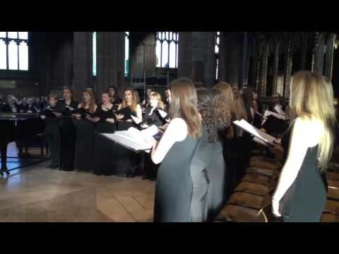 Chetham's Carol Competition Winner 2016 - A Saviour's Lullaby by Lucy Farrimond