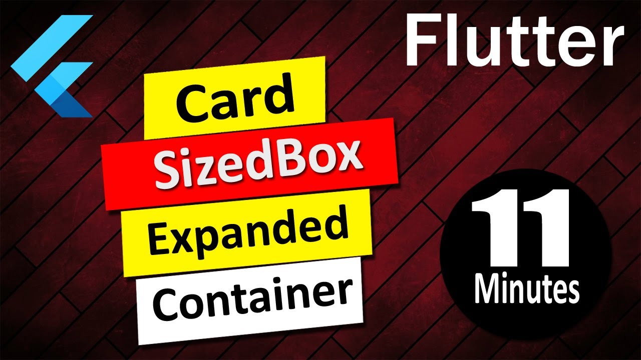 Flutter Container Card SizedBox Expanded Box Constraints - YOC