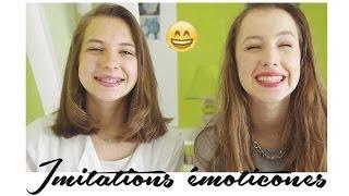 ♡ Imitations émoticones | Lou & Emma