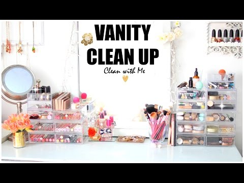 Vanity Clean Up & Organization