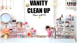 Vanity Clean Up & Organization