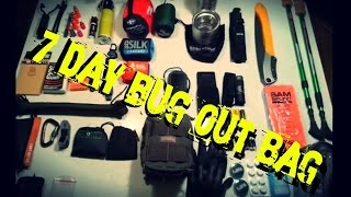 Shtf: 7 Day Bug Out Bag/ Hiking Pack