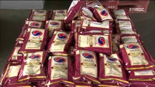 춘천MBC뉴스(R)철원오대쌀 중국 첫 수출 시작