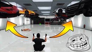 VOLER TOUT LE GARAGE DES JOUEURS - GTA5 TROLL MOD MENU