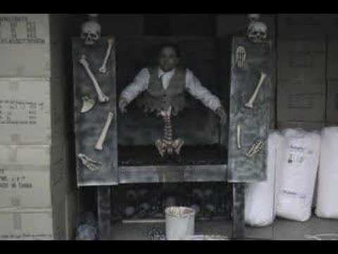Half Man Halloween Illusion Magic Trick 2007 Youtube