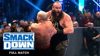 FULL MATCH - Strowman & New Day vs. Zayn, Cesaro & Nakamura: SmackDown, Dec. 27, 2019
