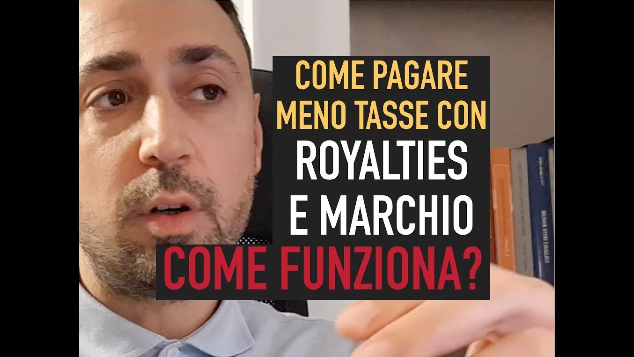 Download COME PAGARE MENO TASSE USANDO le ROYALTIES o il MARCHIO. ECCO COME FUNZIONA