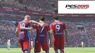 Probando PES 2015 Gameplay PS4 - Bayern Munich, ya soy todo un PRO!!! XD