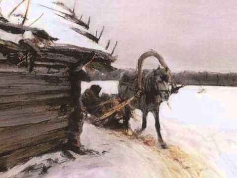 """А. С. Пушкин """"Зима!.. Крестьянин, торжествуя"""""""