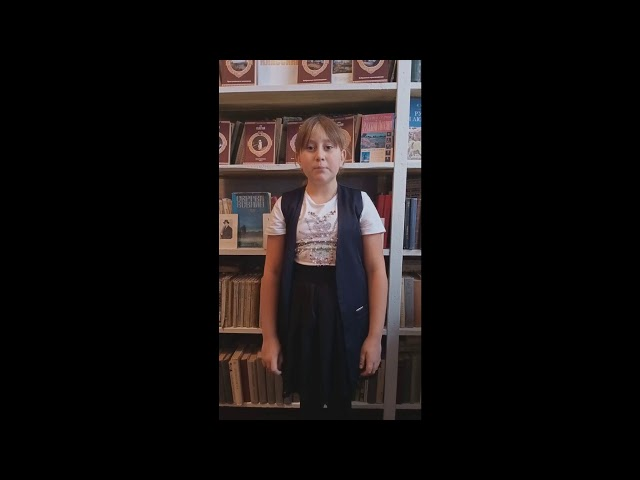 Изображение предпросмотра прочтения – ДианаСопрыкина читает произведение «Бабушкины сказки» С.А.Есенина