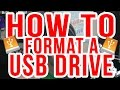 How to Format a USB Drive : Ready for Xbox + PS3 : Tutorial