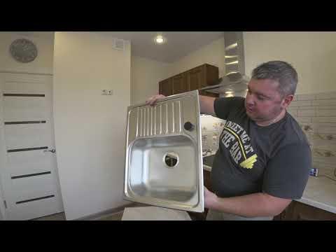 Как сделать отверстие под смеситель в мойке из нержавейки?