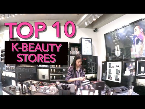 Top 10 Korean Beauty Shops Tour + Favorite Products!