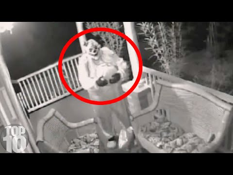 10 Creepiest Surveillance Footages
