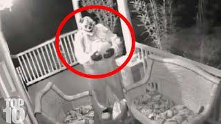 10 Creepiest Surveillance Footages