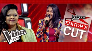Madhuvy Vaithialingam | Pakkam Vanthu | Blind Audition | The Voice Teens Sri Lanka