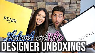 Husband & Wife Designer Unboxings + HUGE 500K Giveaway!