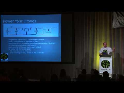 Autonomous Remote Hacking Drones - Dr. Phil Polstra