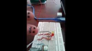 programa 5 control del periodo de encendido y apagado de un led por medio de s4a