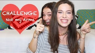 Not my Arms CHALLENGE | Das Make up-DESASTER