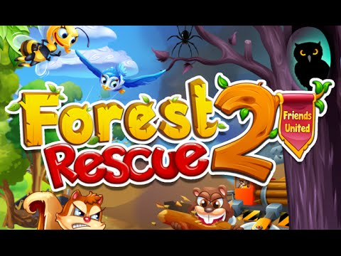 Forest Rescue 2 Friends United  Qublix Games Puzzle Android Gameplay     Forest Rescue 2 Friends United  Qublix Games Puzzle Android Gameplay Video