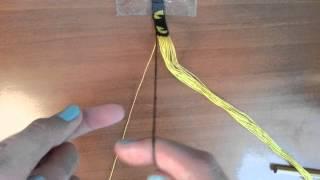Видео-урок 1.Как понимать схемы прямого плетения, плетение