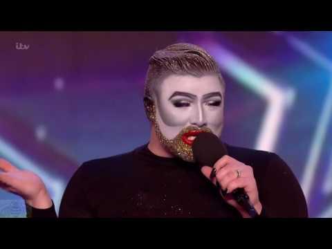 Britain's Got Talent 2016 S10E07 Danny Beard Fantastic Rocky Horror Performance Full Audition