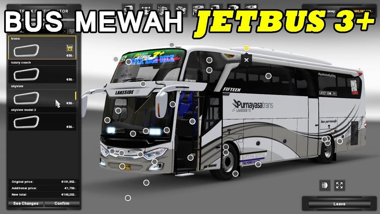 Review Jetbus 3 Shd Ferdian Wisnu Ets2 Bus Mod Indonesia