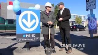 Projet Montréal inaugure la station Pie-IX de la ligne bleue