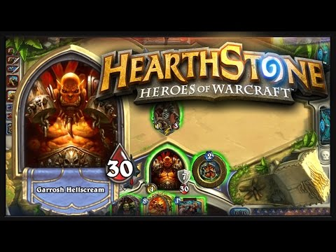 Hearthstone: Ranked Gameplay! - Control Warrior vs. Paladin, Early Season Laddering!
