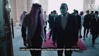 Di sebalik persediaan sebelum menyambut ketibaan YAB Perdana Menteri di 🇸🇦 Riyadh