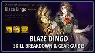 Epic Seven How Good Is Blaze Dingo Build Guide Breakdown Youtube