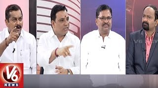 Special Discussion On CM KCR Comments On BJP & Congress | Good Morning Telangana | V6 News