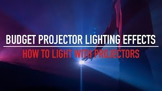 Using a Budget Projector to Create Lighting Effects - Under $100 / £150