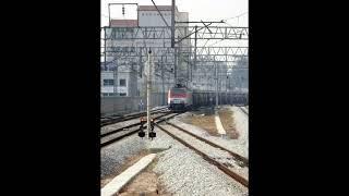 코레일 8101호, 8102호 시멘트 화물열차 망우역 …