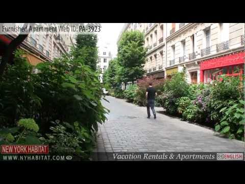 Paris, France - Video tour of a furnished apartment on Rue Saint-Paul (Marais, 4th District)