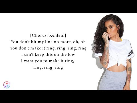 "Cardi B feat.Kehlani - Ring (Lyrics Video) 🎵"""
