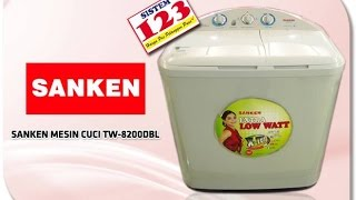 Mesin Cuci Sanken Mati total, Cara memperbaikinya.